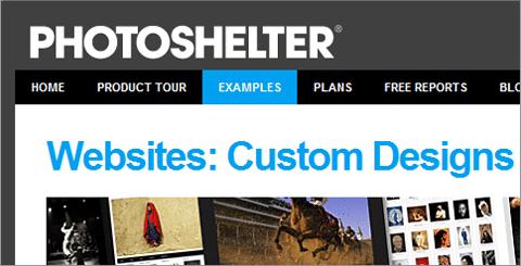PhotoShelter Examples