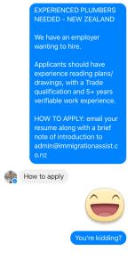 facebook messenger reply
