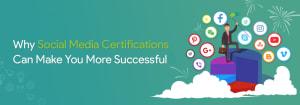 Social media certification success