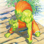 Blanka original drawing