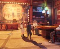 Ice Cream Parlor - Bioshock Infinite