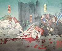 Shiranui\'s sacrifice for Oki - Okami
