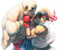 Ryu vs Sagat