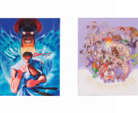 Street fighter II & Super Street Fighter II Posters
