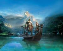 Kratos and Atreus - God of War