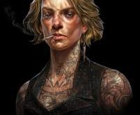 Mindy Blanchard Portrait - Dishonored 2