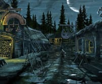 Riverwood Nighttime - Skyrim