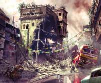Warzone Street Scene - Uncharted 2