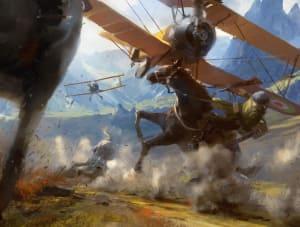 Air to Ground - Battlefield 1, DICE ©