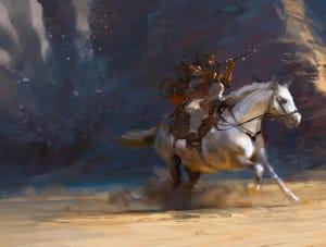 Exploring the Desert - Battlefield 1, DICE ©