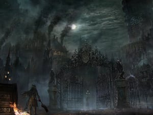 Cathedral Ward - Bloodborne,  ©
