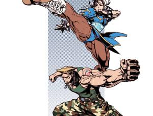 Guile & Chun-Li, Capcom ©