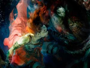 Eir Swimming - Guild Wars 2, ArenaNet ©