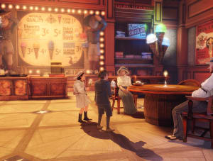 Ice Cream Parlor - Bioshock Infinite, Irrational Games ©