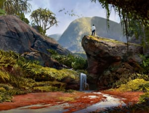 Madagascar Jungle - Uncharted 4, Naughty Dog ©