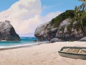 On the Beach - Uncharted 4, Naughty Dog ©