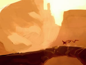 Arch of Stone, Thatgamecompany ©