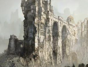 Archdragon Peak - Dark Souls III, FromSoftware ©