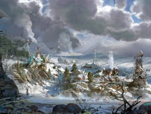 Banuk Village - Horizon Zero Dawn, Guerrilla Games ©