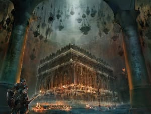 The Chamber of Deacons of the Deep - Dark Souls III, FromSoftware ©
