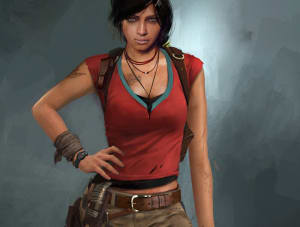 Chloe - Uncharted 2, Naughty Dog ©