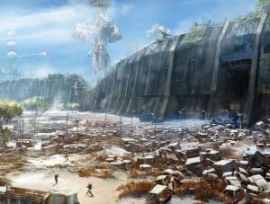 Cosmodrome - Destiny, Bungie ©