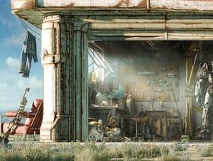 Garage Exterior - Fallout 4, Bethesda Softworks ©