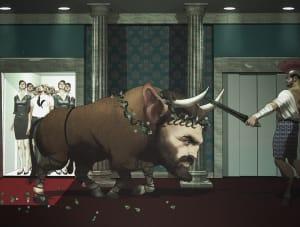 Heracles contre son beau-père, Julien Renoult ©