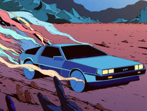 Delorean, Kilian Eng ©