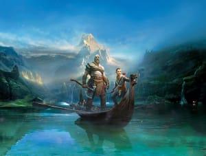Kratos and Atreus, SIE Santa Monica Studio ©