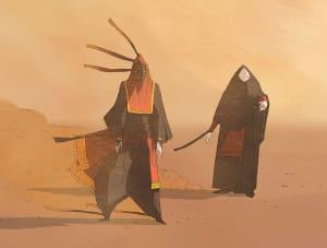 Masked Travelers, Thatgamecompany ©