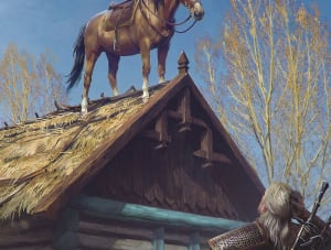 Roach - Witcher 3, CD Projekt Red ©