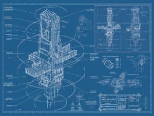 Talos I Master Blueprint - Prey, Arkane Studios ©