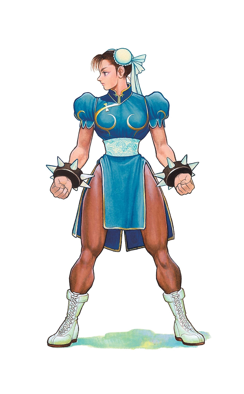 Artwork Chun Li Street Fighter Capcom