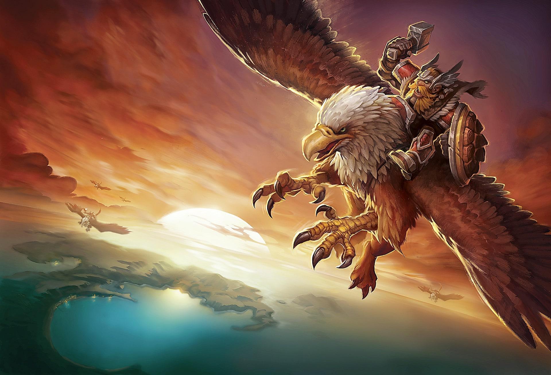 Dwarven-Gryphon-Rider_world-of-warcraft_