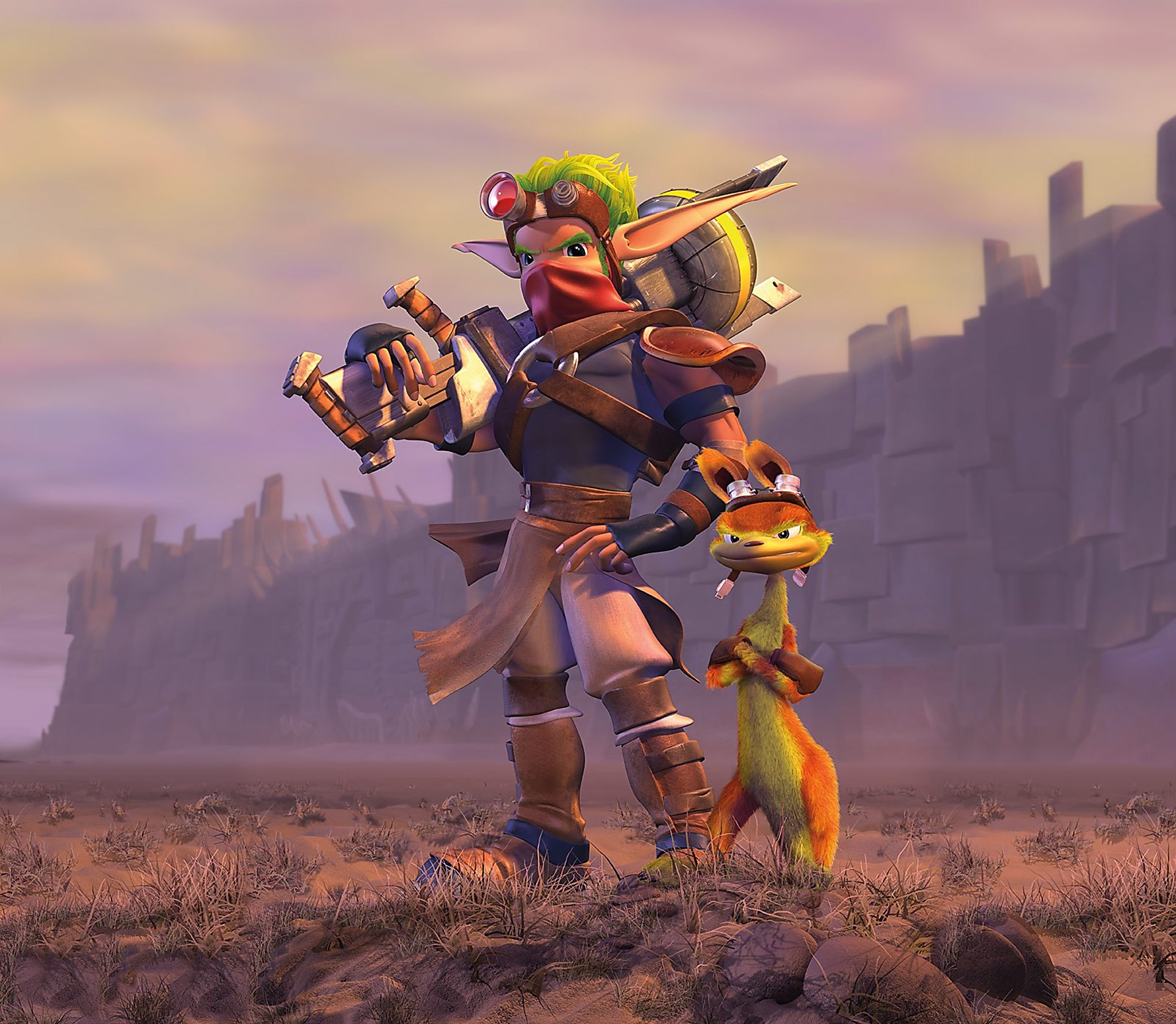 Artwork Jak Daxter Jak Daxter Naughty Dog