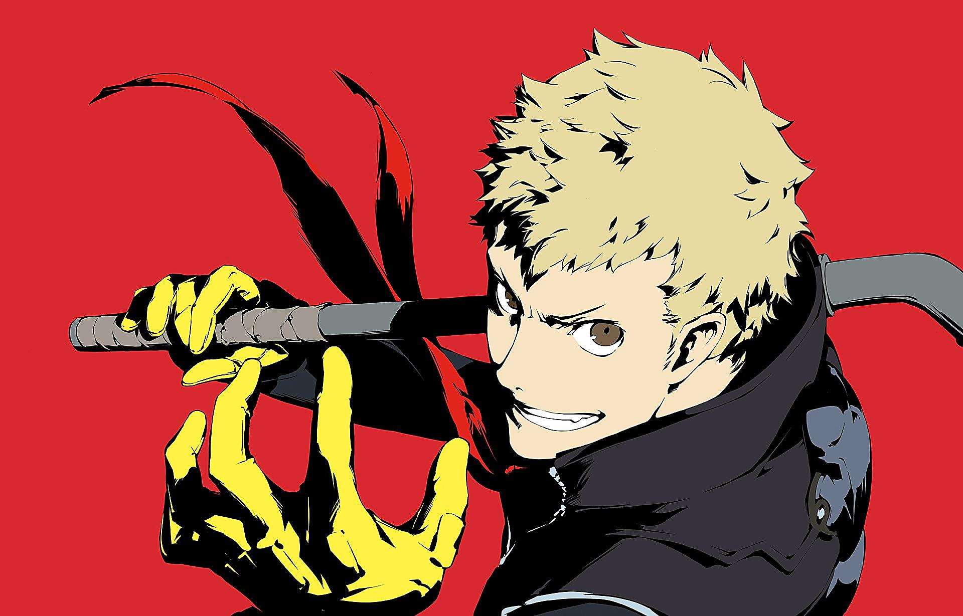 Artwork Ryuji   Persona 5   Atlus