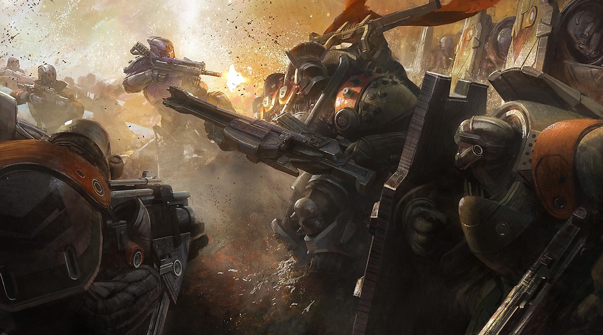 Artwork Cabal Firefight | Destiny | Bungie