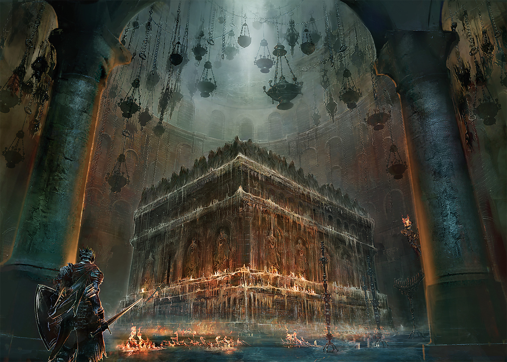 Artwork The Chamber of Deacons of the Deep | Dark Souls III