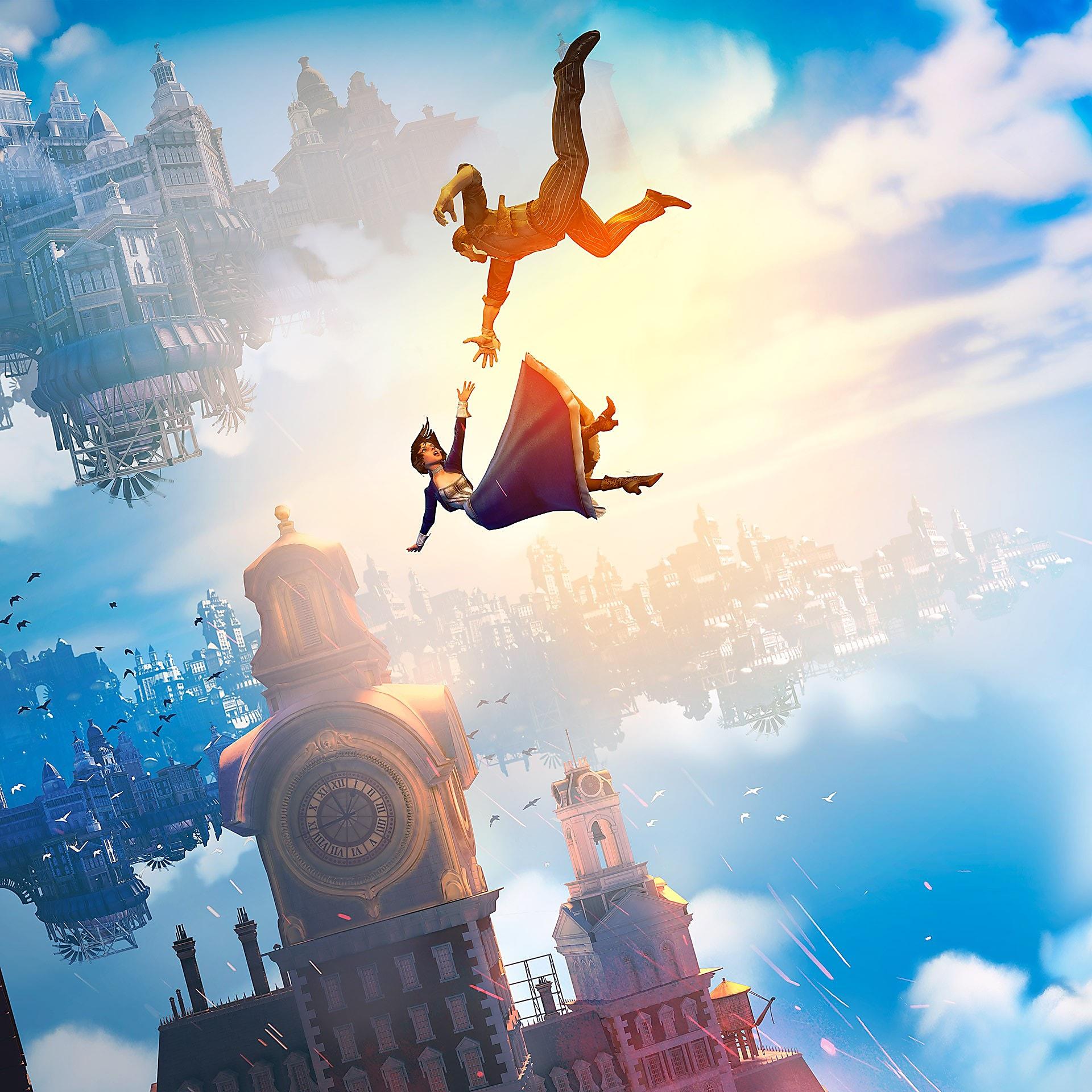 Artwork Falling | BioShock Infinite | Irrational Games | Cook and ...