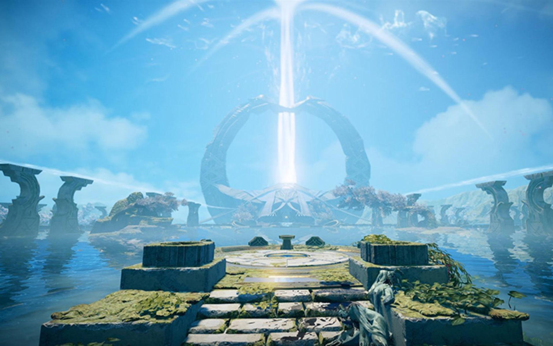 God of War - Constructing Alfheim