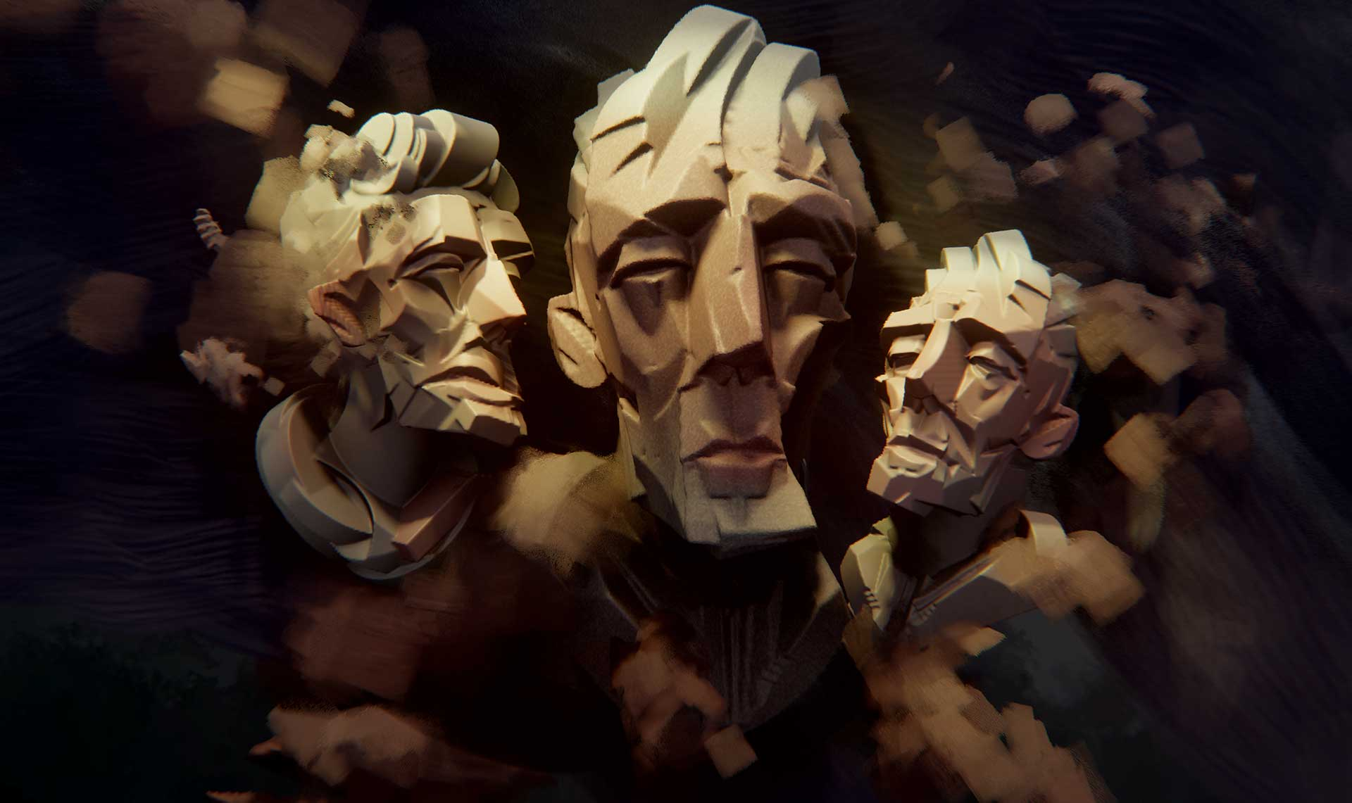 Cubist Heads - Dreams