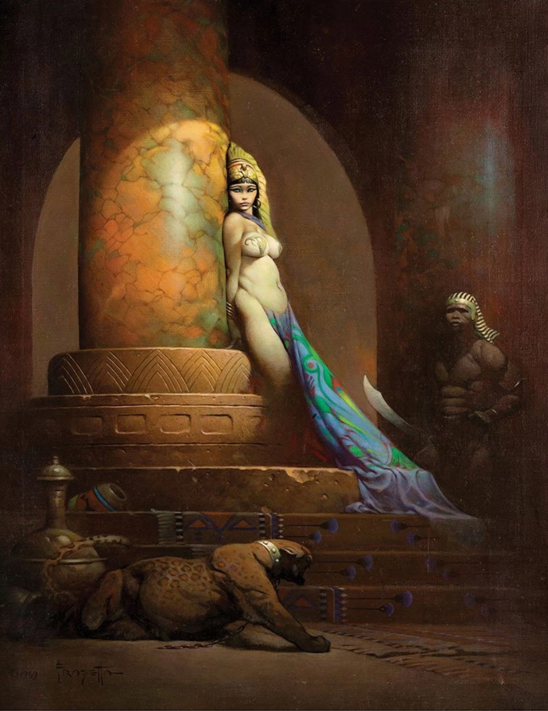 Egyptian Queen - Frank Frazetta