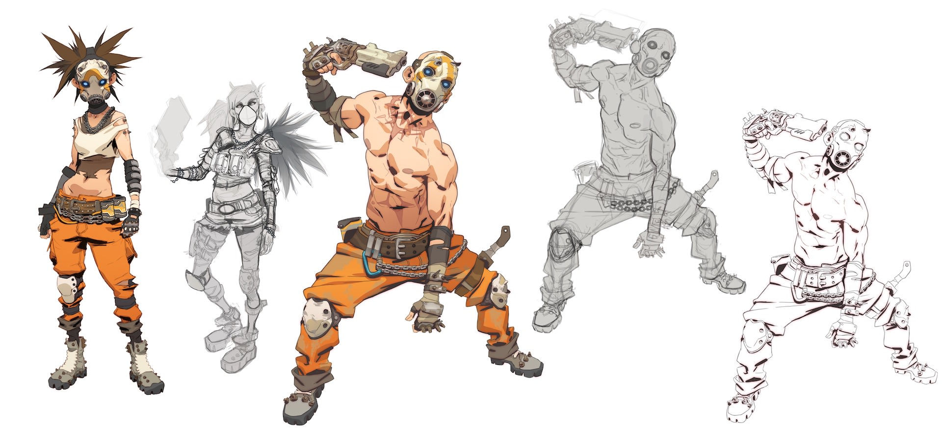 Borderlands concept art