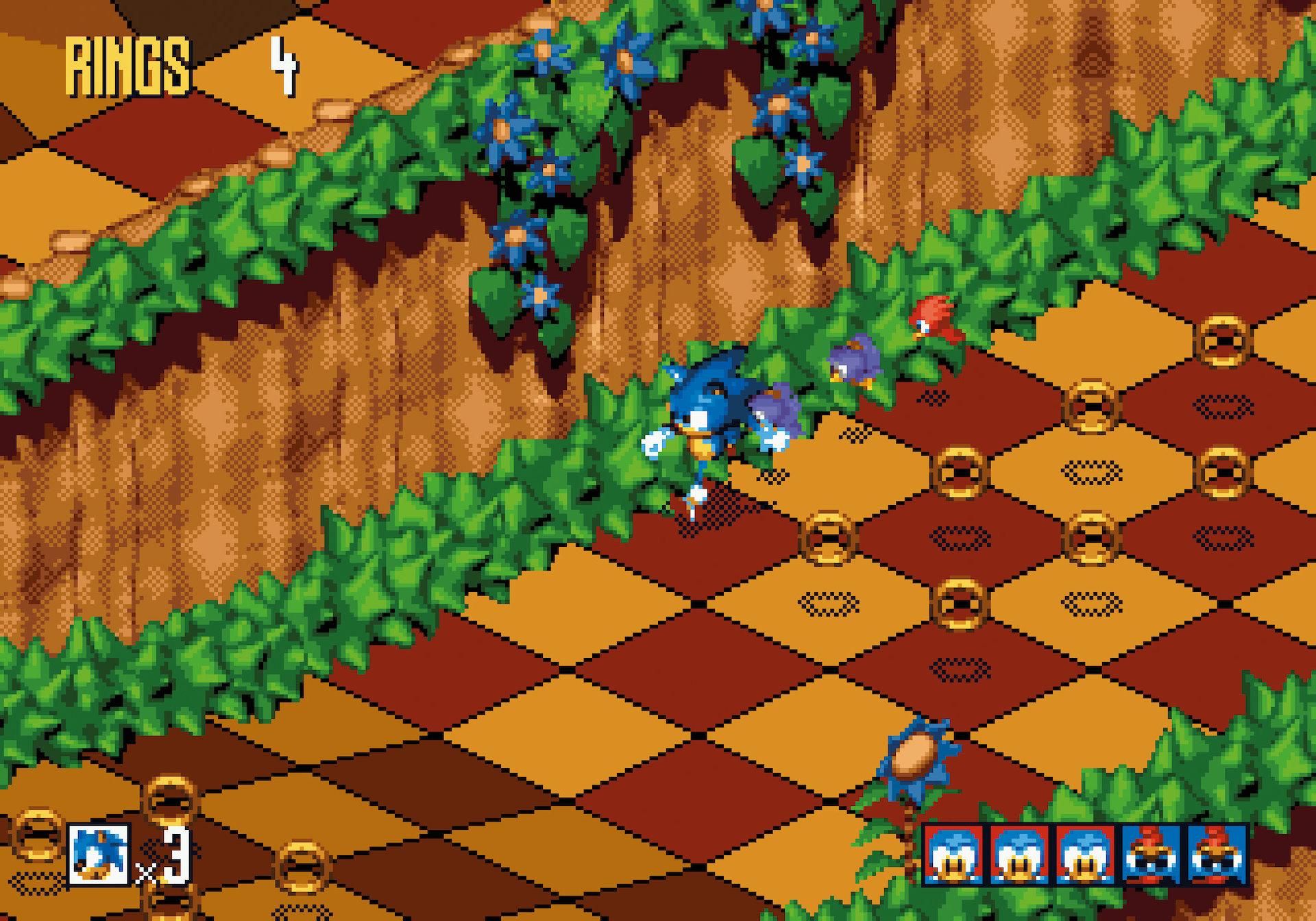 Sonic 3D screenshot