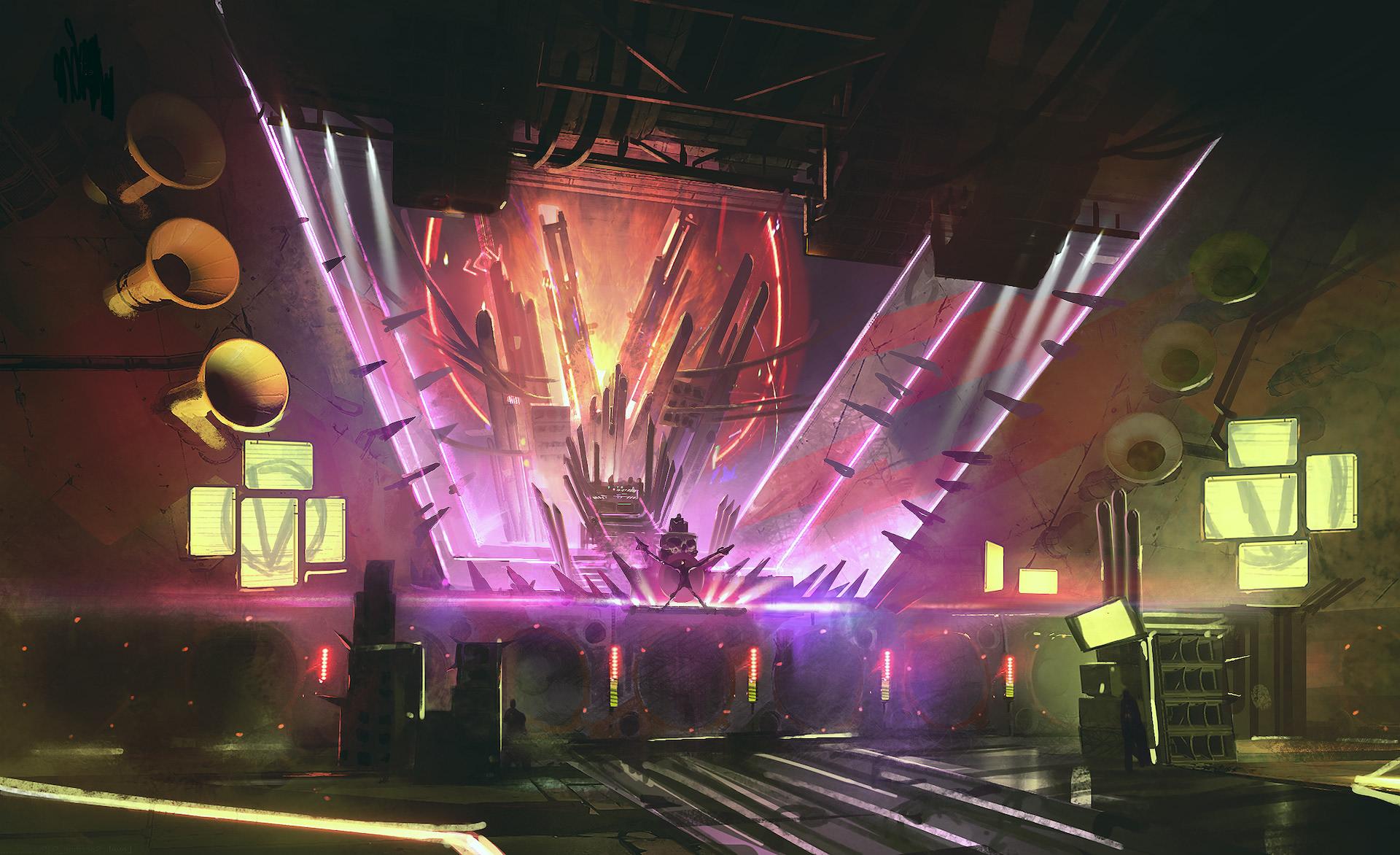 Borderlands3 concept art