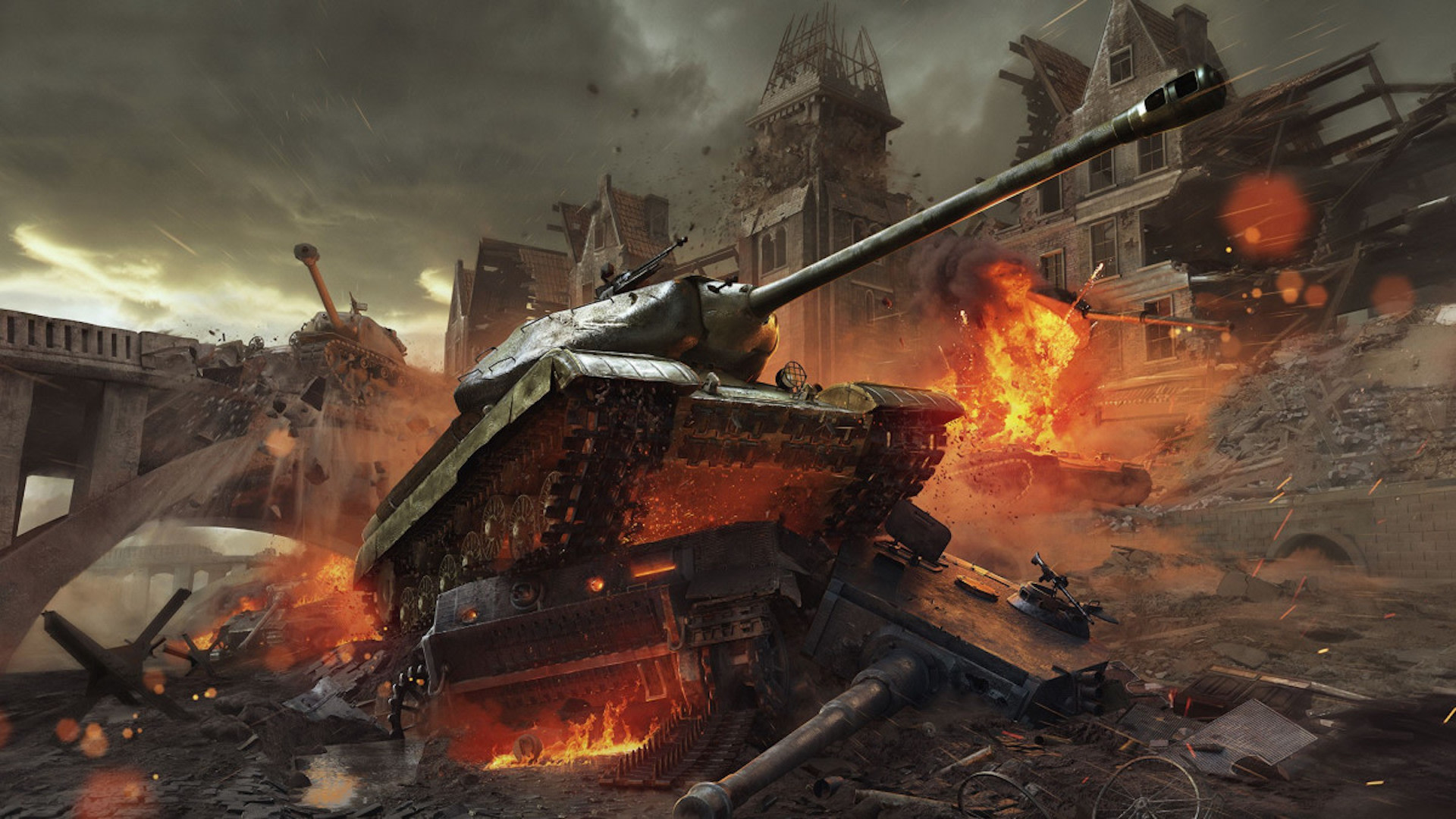 Kaboom! How World of Tanks' Design Battles History
