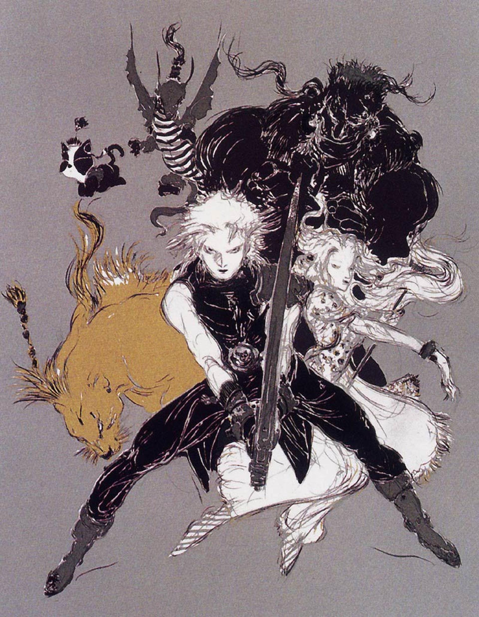 Final Fantasy VII, Amano (Kotaku)