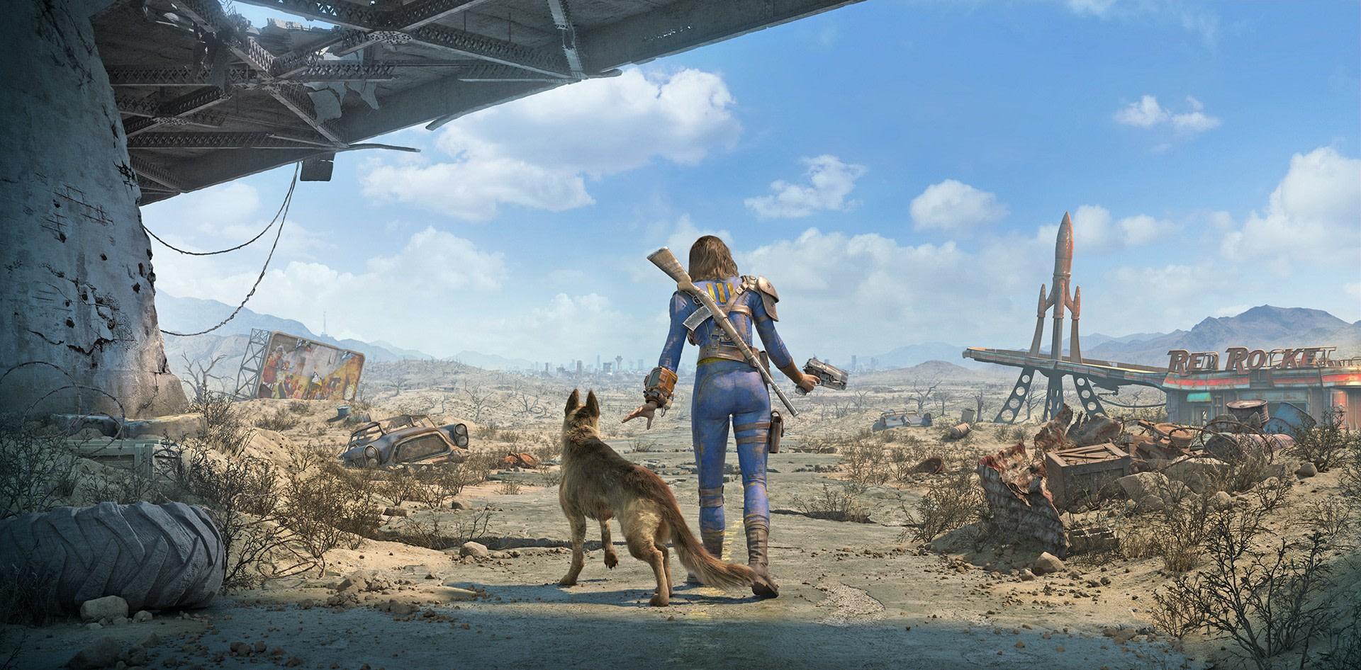 Post-apocalyptische Fallout 4 Fine Art Prints