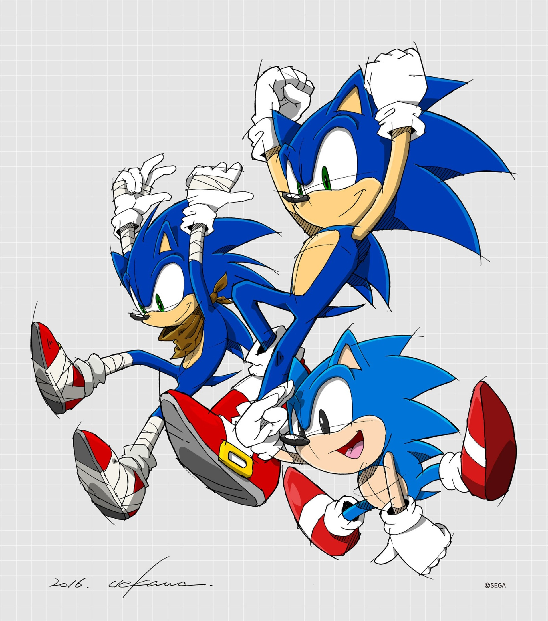 From Classic Sonic To Movie Sonic Cook And Becker
